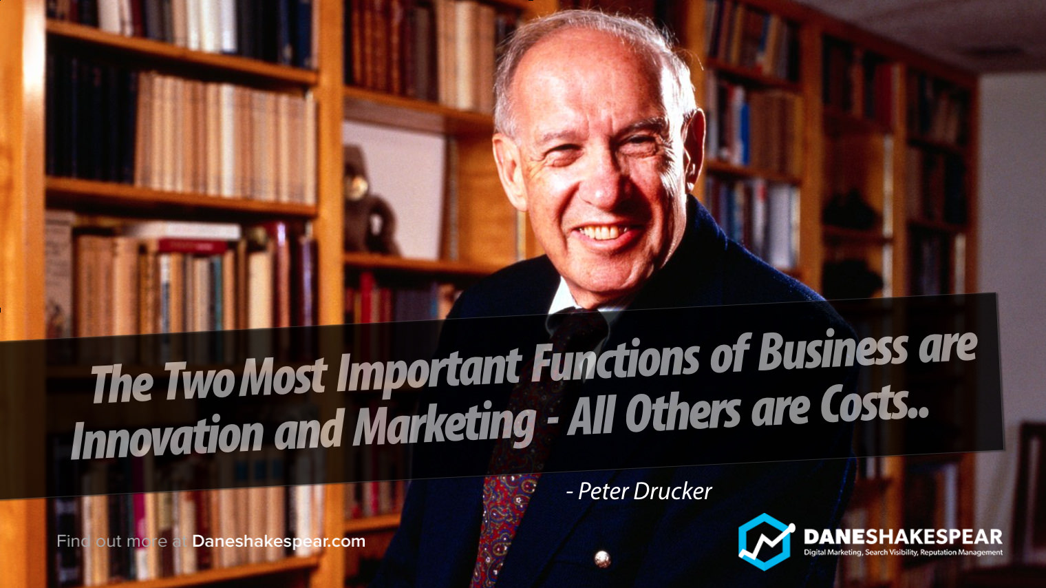 The 2 Most Important Functions of Business are Innovation and Marketing